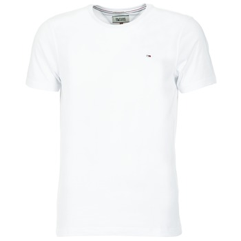 Vêtements Homme T-shirts manches courtes Tommy Jeans OFLEKI Blanc