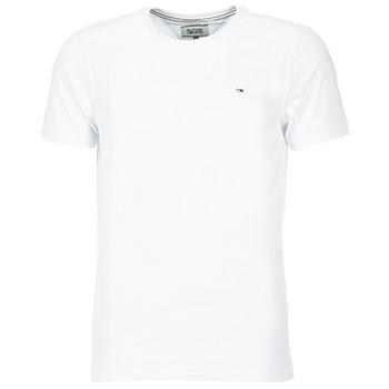 Vêtements Homme T-shirts manches courtes Hilfiger Denim OFLEKI Blanc