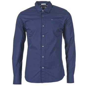 Vêtements Homme Chemises manches longues Tommy Jeans KANTERMI Marine