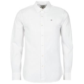 Chemises Hilfiger Denim KANTERMI Blanc 350x350