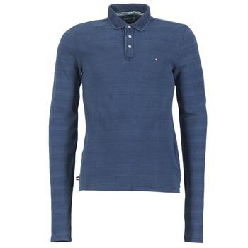 Vêtements Homme Polos manches longues Tommy Jeans KORIKO Bleu