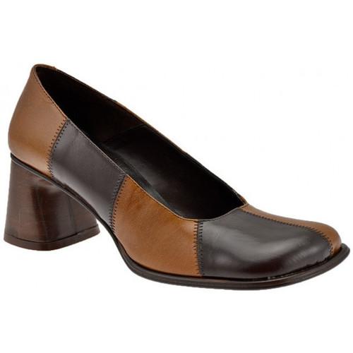 Chaussures Femme Escarpins Nci Talon65Escarpins Beige