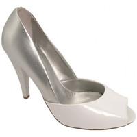 Chaussures Femme Escarpins Chedivé Talon 100 Escarpins blanc