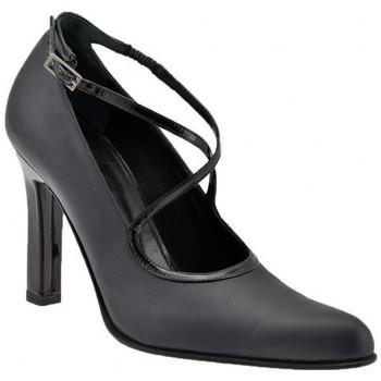 Chaussures Femme Escarpins Enrico Del Gatto SanglescroiséesT.90Escarpins Noir