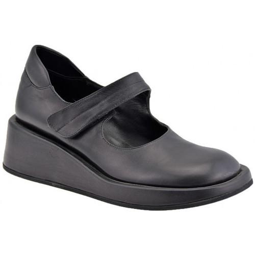 Chaussures Femme Escarpins Josephine VelcroWedge30Escarpins Noir