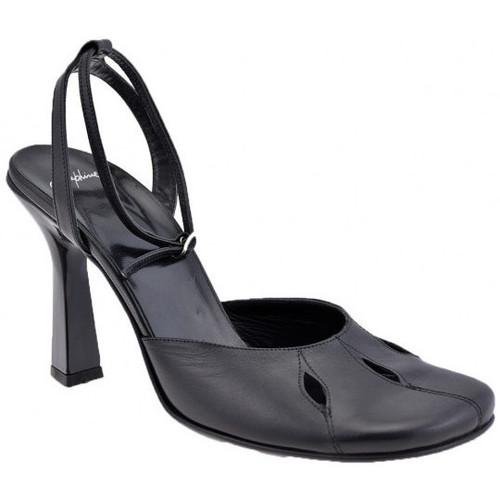 Chaussures Femme Escarpins Josephine Talonboucle100Escarpins Noir