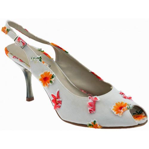 Chaussures Femme Escarpins Onde Piane 80FleurtalonvérifiéEscarpins Blanc