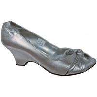 Chaussures Femme Escarpins Keys TissésélastiquesEscarpins Argenté