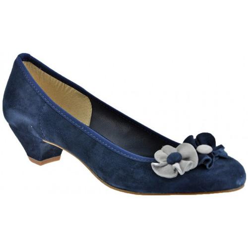 Chaussures Femme Escarpins Keys Ballerinetalonpompe30Escarpins bleu