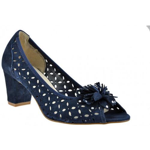 Chaussures Femme Escarpins Keys Pompedetalon60pompeEscarpins bleu