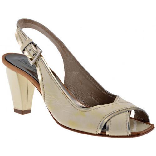 Chaussures Femme Escarpins Progetto C340talon70Escarpins Beige