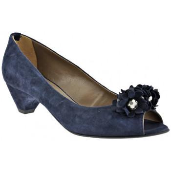 Chaussures Femme Escarpins Progetto Pompe Ballerine talon 40 Escarpins bleu