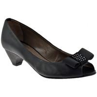 Chaussures Femme Escarpins Progetto R203talon50Escarpins Noir