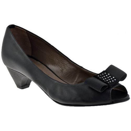 Chaussures Femme Escarpins Progetto R203 talon 50 Escarpins Noir