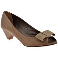 Chaussures Femme Escarpins Progetto R203talon50Escarpins Gris