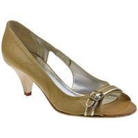 Chaussures Femme Escarpins Lea Foscati Vérifié T.50 Boucle Escarpins Beige