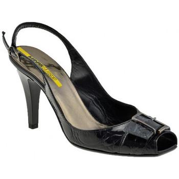 Chaussures Femme Escarpins Lea Foscati BoucleT.90Escarpins Noir