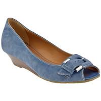 Chaussures Femme Escarpins Lea Foscati BoucleT.30Escarpins Bleu