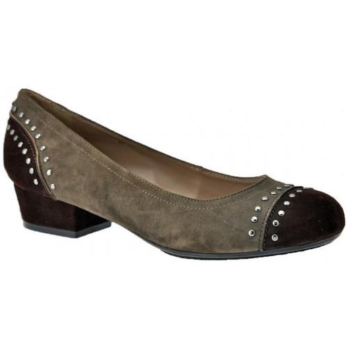 Chaussures Femme Escarpins Otto E Dieci Ballerinetalonpompe30Escarpins Marron