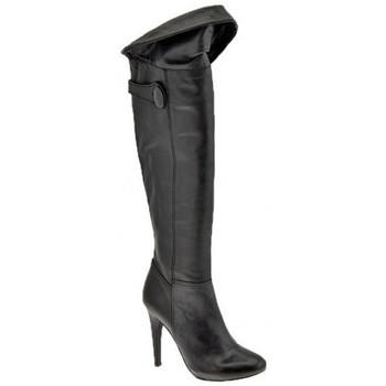 Chaussures Femme Bottes ville Ssamzie Dessus du genou talon 120 Bottes