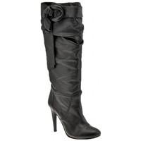 Chaussures Femme Bottes ville Ssamzie Talon 120 Plateau Intérieur Bottes