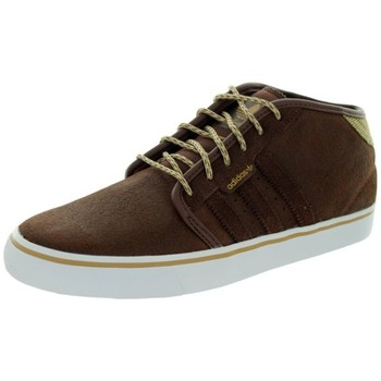 Chaussures Homme Baskets montantes adidas Originals Sneakers Homme  Seelye Mid leather brown Marron