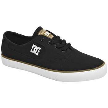 Chaussures Homme Baskets basses DC Shoes Baskets Homme  Flash TX Skate Black Putty Un grand classique ! Noir