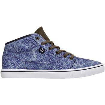 Baskets montantes DC Shoes BRISTOL MID LE Navy Dark Chocolate