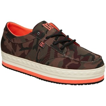 Chaussures Femme Baskets basses DC Shoes CREEPER TX Army Camouflage Vert