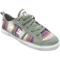 Chaussures Femme Baskets basses DC Shoes Baskets Femme  FIONA Wild Dove Multicolore
