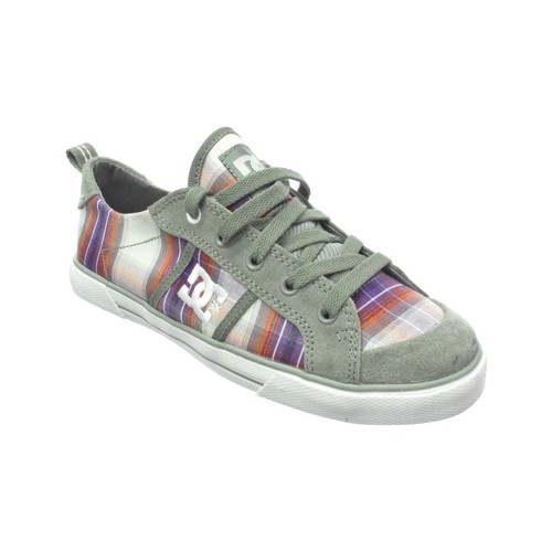 dc shoes baskets femme fiona wild dove multicolore. Black Bedroom Furniture Sets. Home Design Ideas