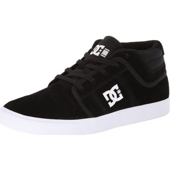 Chaussures Homme Baskets montantes DC Shoes Sneakers Femme  RD GRAND MID DYRDEK Collection Black White Suede Noir