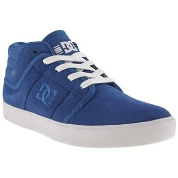 DC Shoes Sneakers Femme  RD GRAND MID DYRDEK Collection Blue Suede Bleu - Chaussures Basket montante Homme