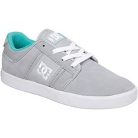 Chaussures Homme Baskets montantes DC Shoes Sneakers Femme  RD GRAND MID DYRDEK Collection Grey Suede Gris