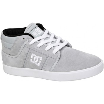 Chaussures Homme Baskets montantes DC Shoes Sneakers Femme  RD GRAND MID DYRDEK Collection Red Suede Rouge