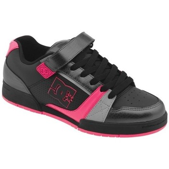 Baskets basses DC Shoes TRICKY Black Red