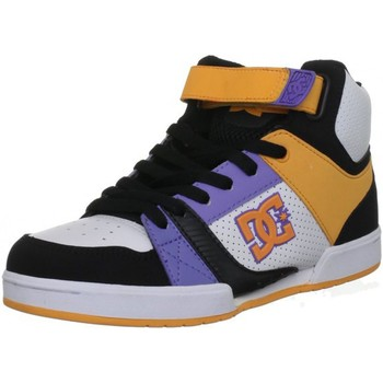 Baskets montantes DC Shoes TRICKY MID Black Blazing Orange