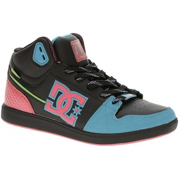 Chaussures Femme Baskets montantes DC Shoes UNIVERISTY MID Black Goji Noir