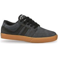 Chaussures Homme Baskets basses Osiris Baskets Homme asket Homme Lumin Charcoal blk gum Skate shoes ve Noir