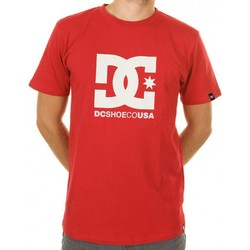 Vêtements Homme T-shirts manches courtes DC Shoes Tee-shirt manches longues  CO USA TEESTAR Red Rouge