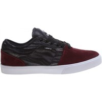 Chaussures Homme Baskets basses Osiris Destockage  DECAY Grain Rouge
