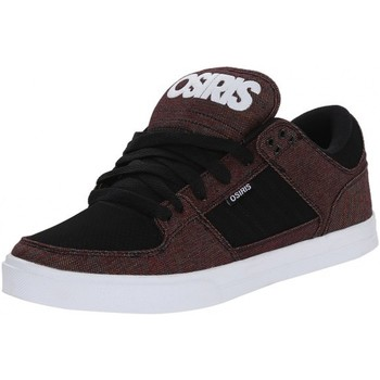 Chaussures Homme Baskets basses Osiris PROTOCOL Black white CCC Noir