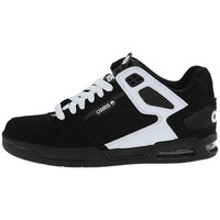 Chaussures Homme Baskets basses Osiris PERIL Black white Noir