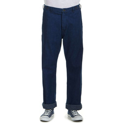 Vêtements Homme Chinos / Carrots Lee Pantalon Chino  101 Worker Indigo Homme Bleu