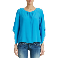 Vêtements Femme Tops / Blouses Fracomina Top  Turquoise Femme Turquoise