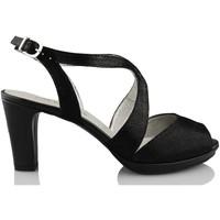 Chaussures Femme Escarpins Montesinos CAVIAR NOIR