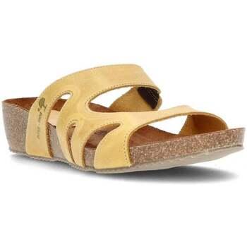 Chaussures Femme Mules Interbios W JAUNE