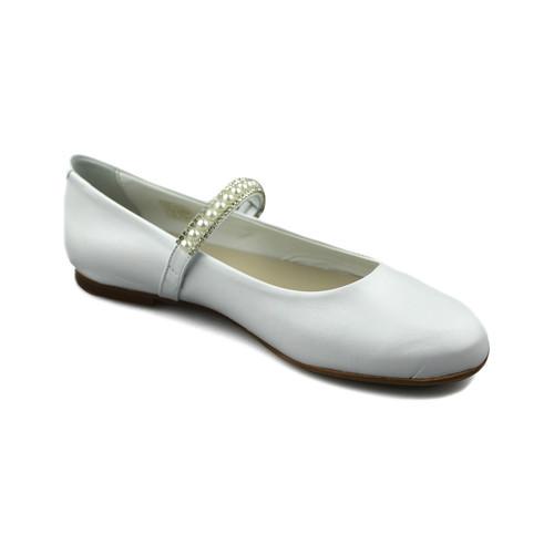 Chaussures Fille Ballerines / babies Oca Loca OCA LOCA PEARL danseurs BLANC