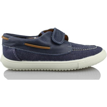 Chaussures bateau Vulladi NAUTIQUE  TOILE VELCRO