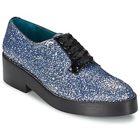 Chaussures Femme Derbies Sonia Rykiel 676318 Bleu / Argent